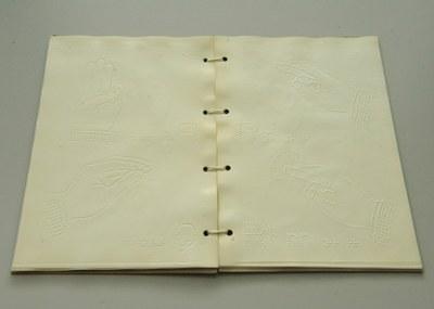 Libro alfabeto de sordomudos y ciegos