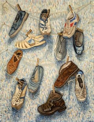 Zapatillas viejas