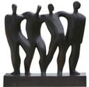 Grupo escultórico de Elena Laverón